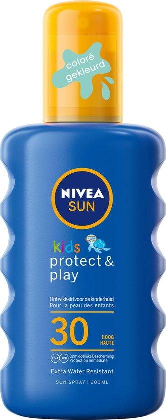 NIVEA SUN Kids Protect & Play Hydraterende Zonnespray SPF 30 - 200 ml
