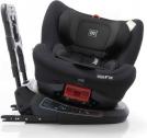 Babyauto Birofix Autostoel – Black/Black – 360 graden draaibaar