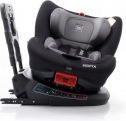 Babyauto Birofix Autostoel – Black/Grey – 360 graden draaibaar