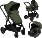 Baninni Kinderwagen Otto – 3 in 1 – Olive Green