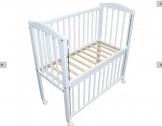Co-sleeper – wieg – babybed – 90 x 40 cm met matras vurenhout