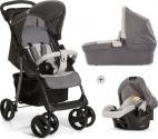 Hauck Shopper SLX Trioset Kinderwagen – Stone/Grey